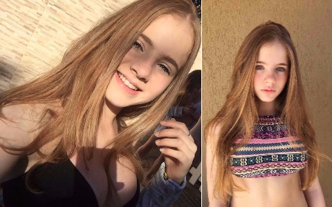 Beautiful Thabata Hanauer is a beautiful and sexy 12 year old girl living in Brazil   Sexy Girls